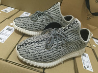 2016 Army green Men Flat Air mesh shoes Black pattern painting kanye west yeezys Fashion High Quality Women Shoes 350