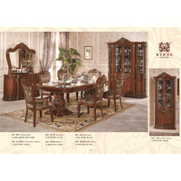 Luxury Classic Mdf Dining Room Sets