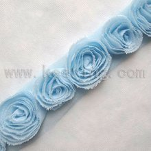 Chiffon Lace trim for bridal,lace trimming,lace ribbon WTP-856