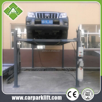 automatic vertical double stack car parking system