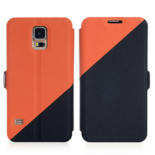New design classic leather phone case for Samsung Galaxy S5 Mini
