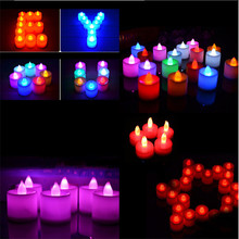 Fashion Wireless Led Candles With Remote Control Led Tea Light Led Candle Remote Tea Candles With Remote