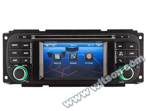 WITSON CHRYSLER Sebring convertible touch screen car stereo with USB port and iPod ready