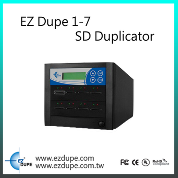 EZ Dupe 1 to 7 - 63 targets SD Card Duplicator