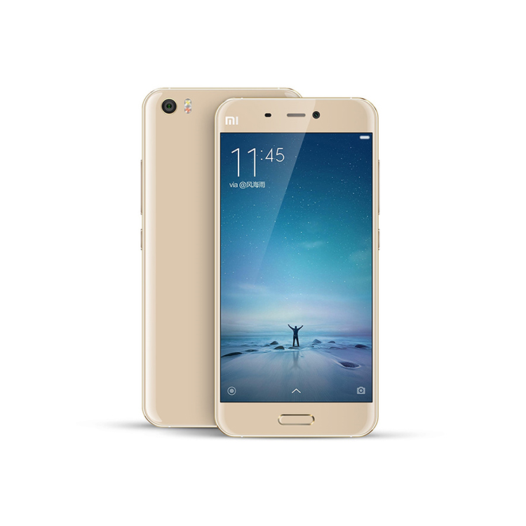 Slim Big Screen Xiaomi Mi5 Mi 5 GSM Wcdma Digital Java Enabled 3GB RAM 32GB ROM Android 6.0 Quad Core 13MP Mobile Phone