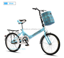 wholesale cheap student folding cycle light 16 20 inch wheels suspension adult folding bicycle 20 inch