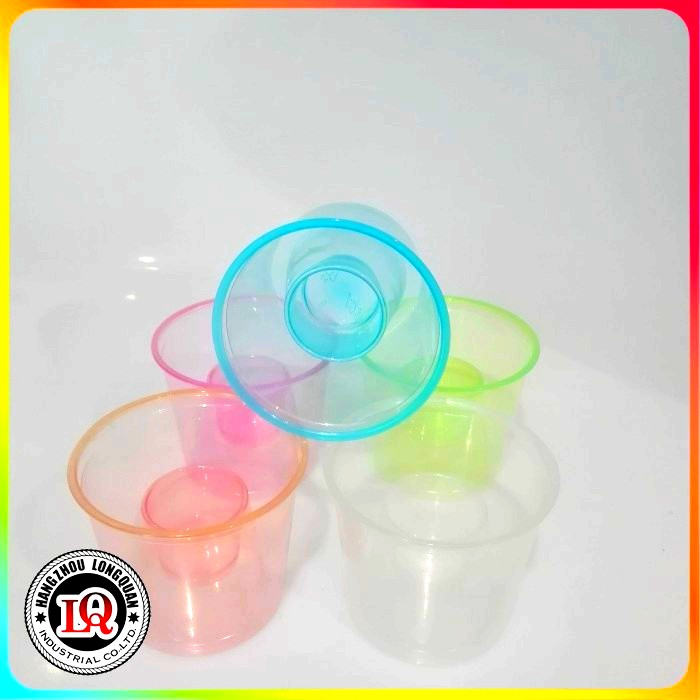 Disposable PP colorful Plastic Power Bomber Shot Cup