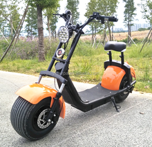 orange colour 800w 1000w 1500w electric mobility scooter /fat tire e-scooter /big power vehicle