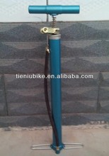 bicycle steel pump with steel handle similar bee pump