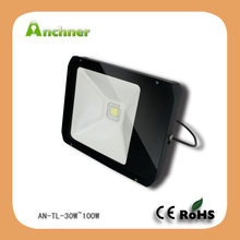 LED flood light meanwell driver out door lighting IP65 30W tunnel light
