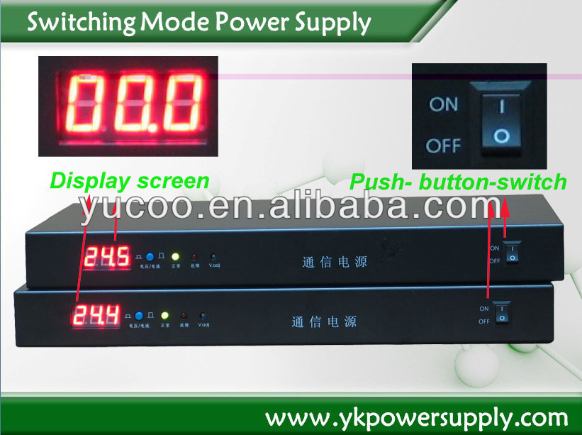 1200W 24VDC Led power supply switching mode power supply