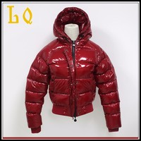 Man Quality Shiny Coat Custom Warm