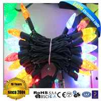 New design novelty C6 LED Christmas string light sets With high quality