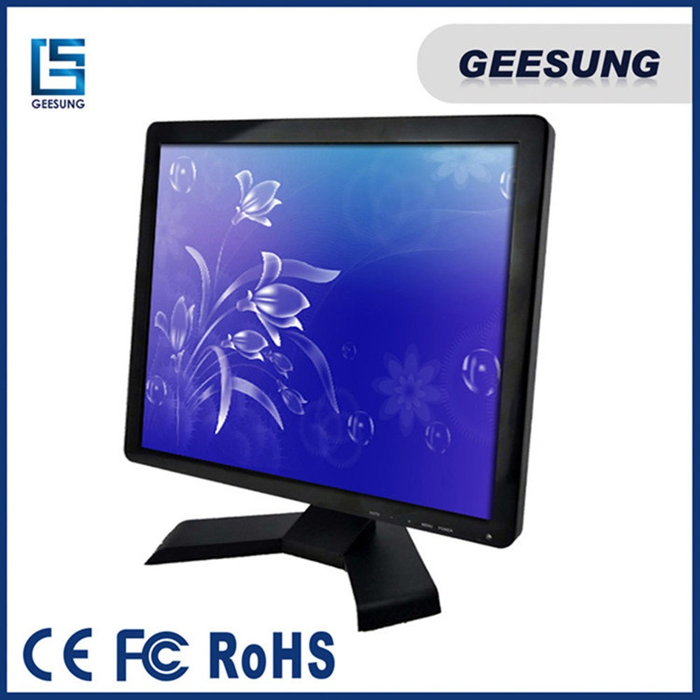 19 inch resistive touch screen lcd monitor with different monitor stand (6)