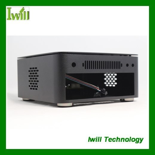 New factory dual mini itx case with promotion price