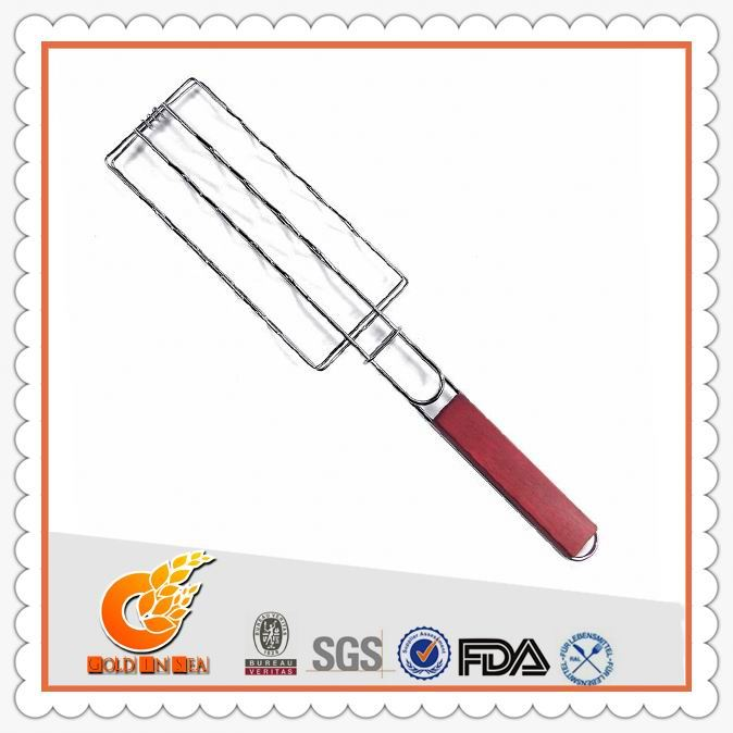 Convenient to cook square barbecue grill net(GIS46195)
