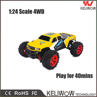Keliwow 1/24 Scale RC mini car electric off road rc toy cars for sale