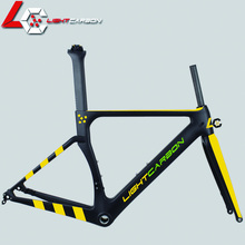 Factory Wholesale 700C Carbon Road Bike Frame OEM