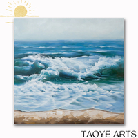 Seascape bedroom oil painting handmade beautiful scenery oil painting on canvas