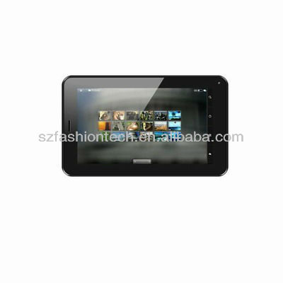 2013 best selling bluetooth 3G 7 inch tablet PC