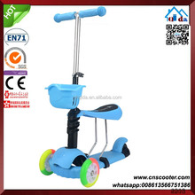 Fashion Three Wheel 3 Big Wheel Adult Kick Scooter For Adults