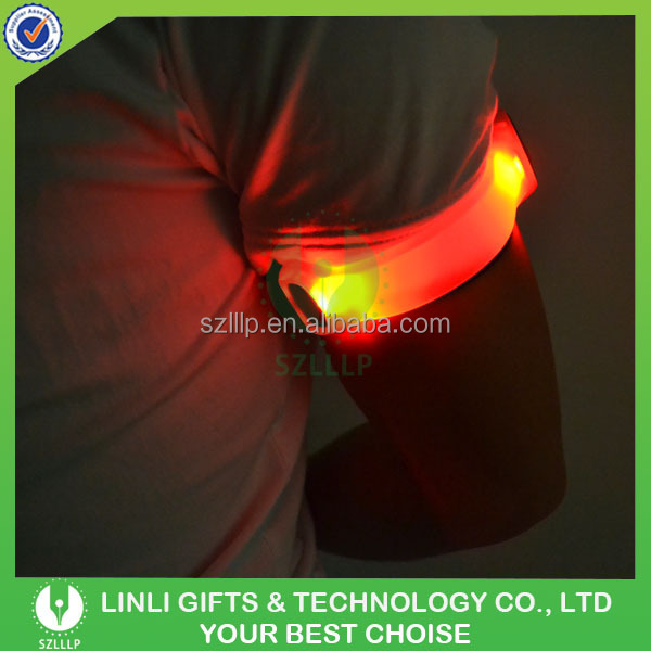 Lovely Souvenirs Led Reflective Sport Running Armband Case Glow In The Dark