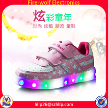 Factory supply high quality waterproof high brightness kids led flash shoes