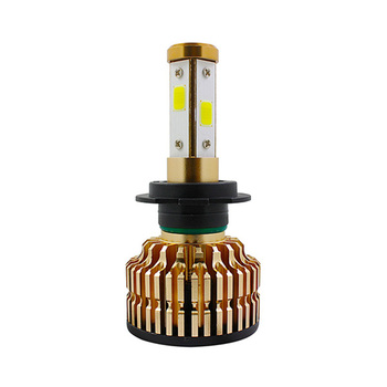 2018 Hottest t4 bright canbus builti-in headlight bulb 4 sides 360 degree bright car cob lamp conversion kit fog lamp
