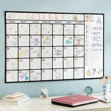 Wholesale Durable Vinyl Weekly White Fridge Magnetic Calendar Board