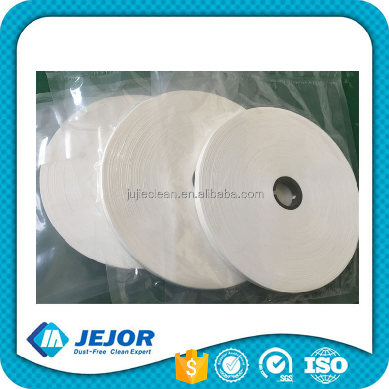 Class 100 Lint Free Microfiber Material LCD Rolled Wiper