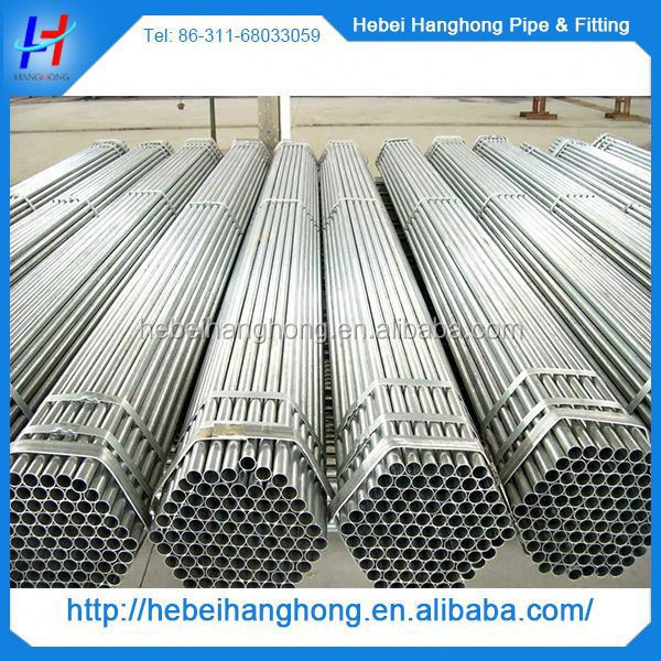China Trade Assurance Manufacturer hot dipped galvanized rigid steel conduit pipe