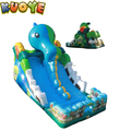 2018 inflatable vinly comercial new design toboggan slide