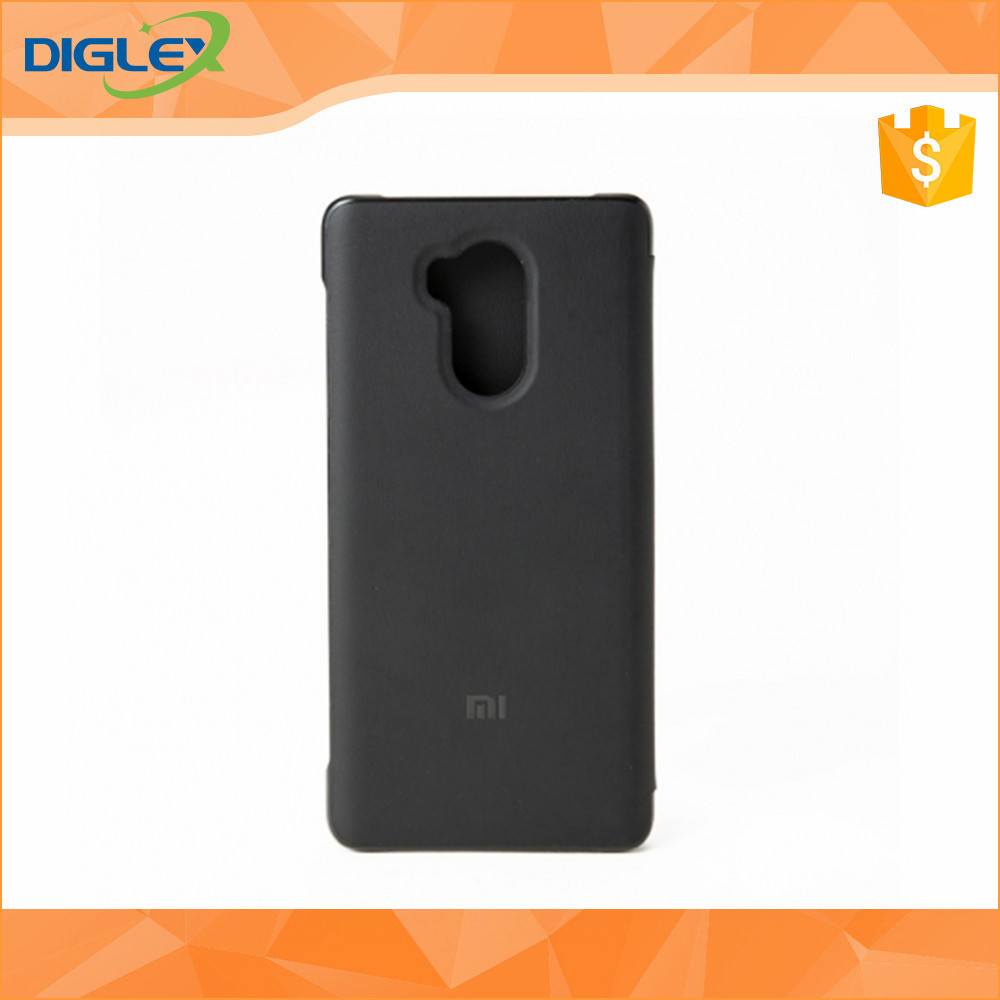 original xiaomi redmi 4 pro leather case flip case for xiaomi redmi 4 prime flip cover case