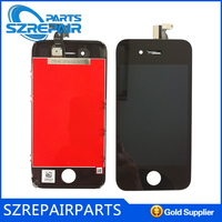 Lcd display touch screen with digitizer assembly for pantallas iphone 4s