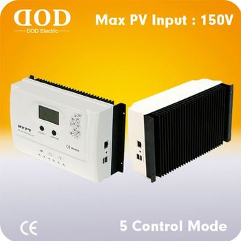 10A 20A 30A RS232 communication for solar system high quality MPPT solar charge controller