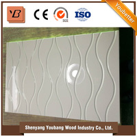 china supplier modern kitchen design carving board / kitchen furniture uv board