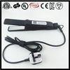 locking mechanism AC 100V-240V nano titanium electric wet and dry hair tool with 140F-450F(80C-230C)
