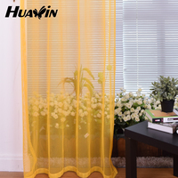 100%polyester french lace curtain fabric window curtain