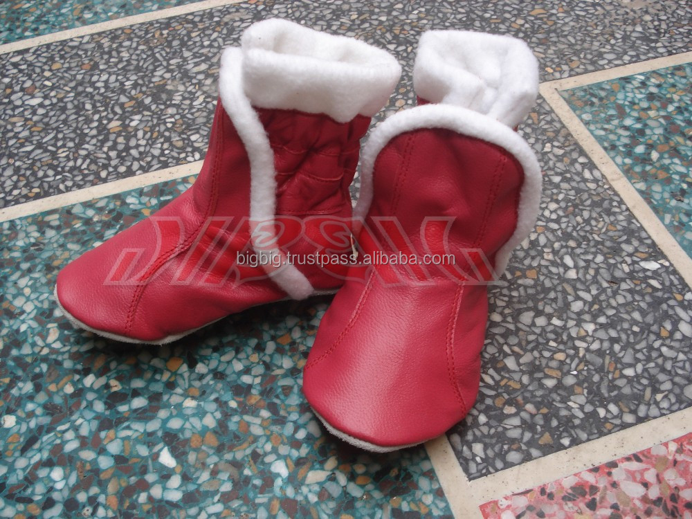 Soft leather baby shoes & booties