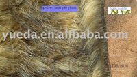 bonded fabric(plush bonded with suede)