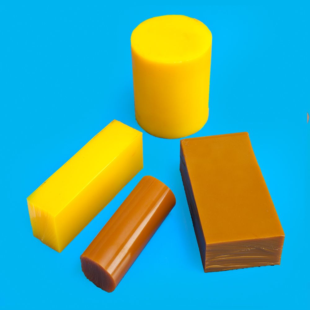 Colorful nice quality plastic wear and tear resistance PU sheet / rod