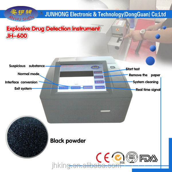 Tabletop Explosives & Drugs Detector for Boarder Control
