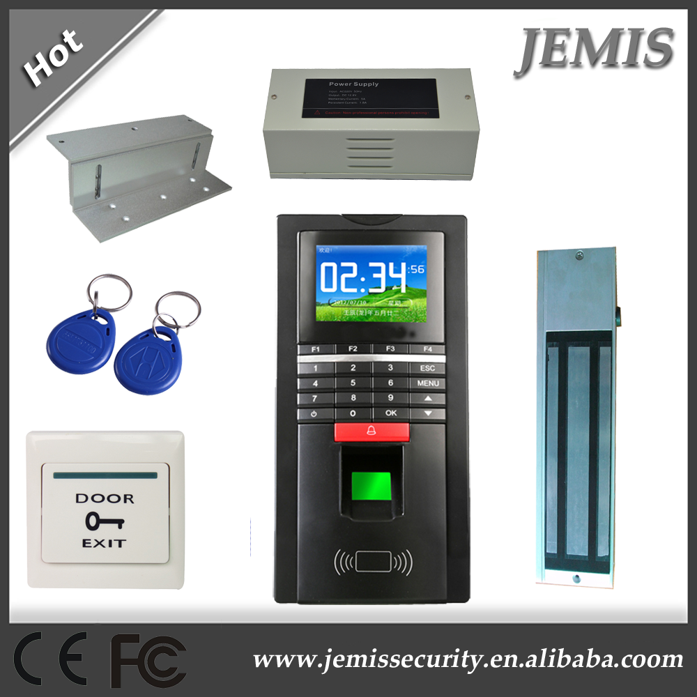 Biometric Fingerprint tcp ip access control keypad with 2.4 inch Screen