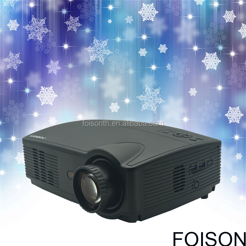 High Bright 4000 lumen LCD WIFI 2000 :1 Contrast ratio 1080P Projector with wonderful picture and clarity
