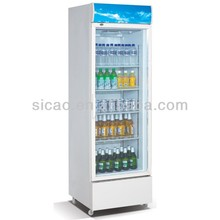 SC-360FP portable refrigerated display cooler with wheels