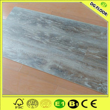 6mm Indoor Wood Plastic Composite Embossed Surface WPC Vinyl Flooring with Cork Back
