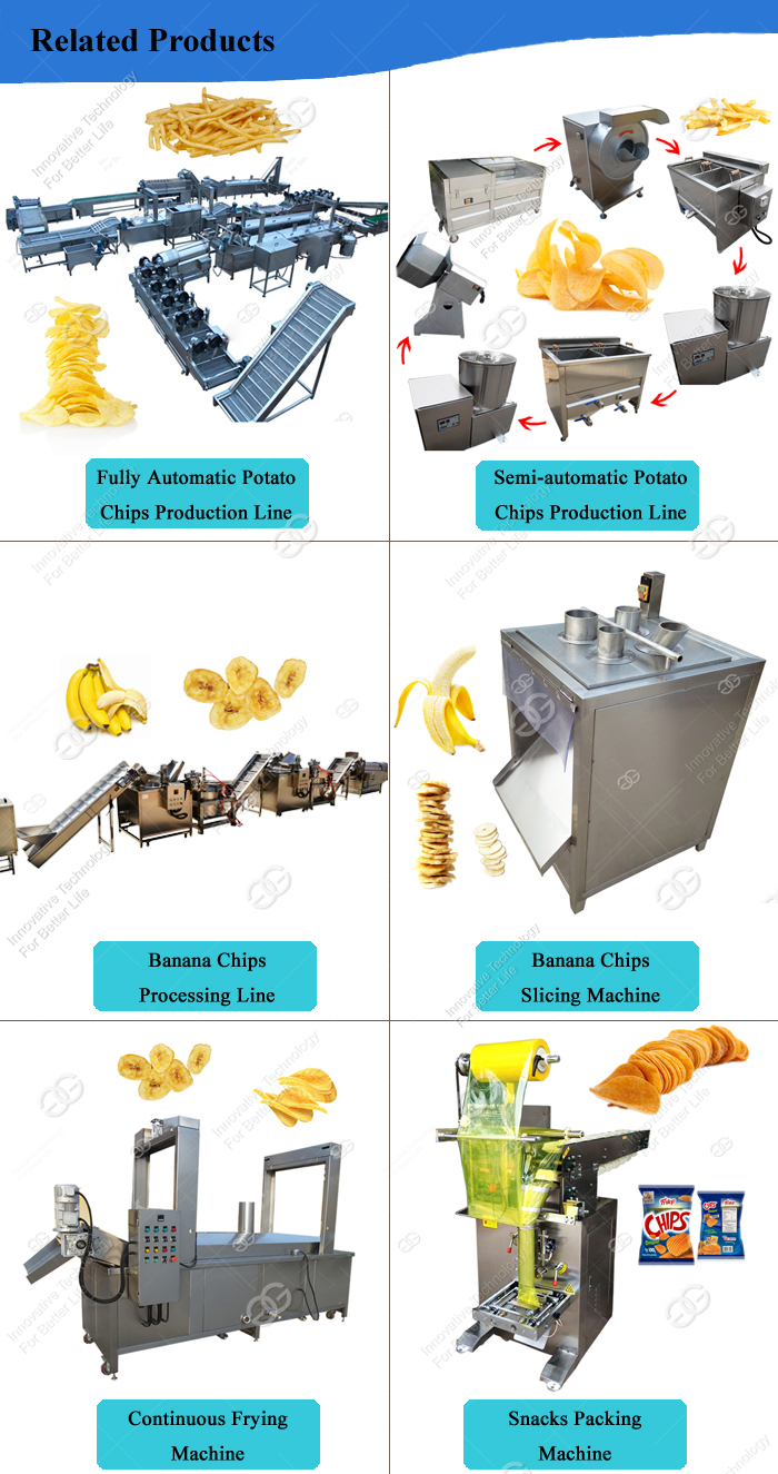 Good Price Potato Crisps Banana Chips Processing Plant Plantain Slices Frites Making Machinery Onion Slicing Machine
