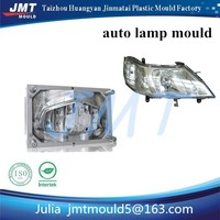 customized and high precision auto head lamps plastic injection mould with p20 steel