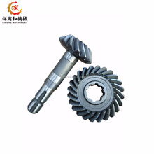 China OEM high precision 20CrMnTi bevel gear Stainless steel bevel gear with teeth hardened treatment
