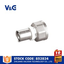 Forged Brass pvc fittings threaded , DVGW,CUPC,CE,WRAS